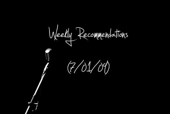 WeeklyRecs70190
