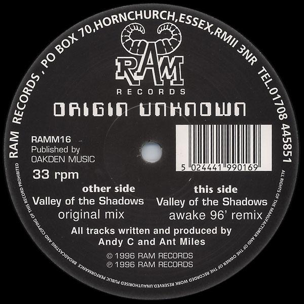 Origin Unknown -31 Seconds