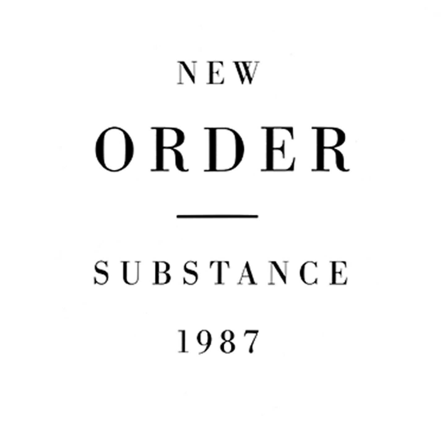 New Order - Substance